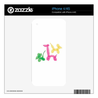 Balloon Animals Skin For The iPhone 4S