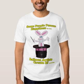 Balloon Artists Create Happiness Balloon Rabbit T-shirt