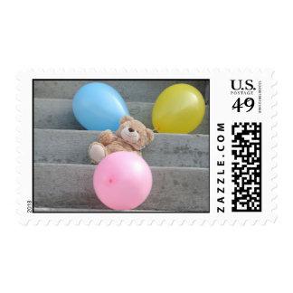 Balloon Bear Postage