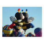 Balloon-Bee Post Card