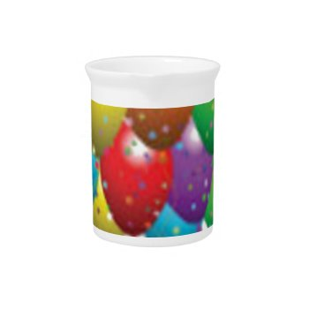 Balloon_birthday_card_customize-r11e61ed9b9074290b Drink Pitchers by CREATIVEPARTYSTUFF at Zazzle