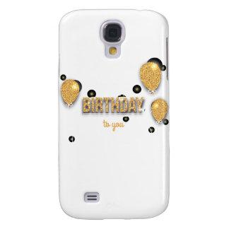 balloon birthday design galaxy s4 case