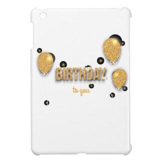 balloon birthday design iPad mini cover