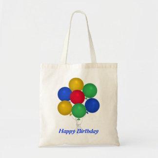 Balloon Birthday Tote Bag
