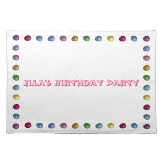 Balloon Border Placemat