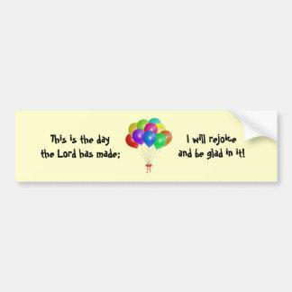 Balloon Bouquet Bumper Sticker