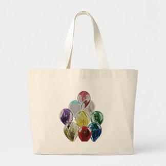 Balloon Bouquet Fractal Jumbo Tote Bag