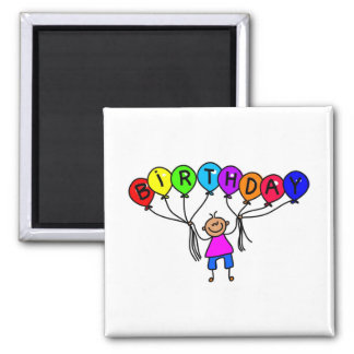 balloon boy 2 inch square magnet