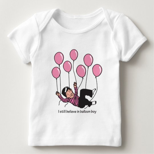 Balloon Boy Baby T-Shirt