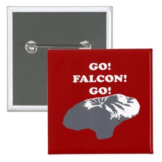 Balloon Boy - Go Falcon Go 2 Inch Square Button