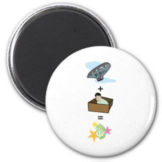 Balloon + Boy Hiding in Box = $$ Stardom $$ Magnets