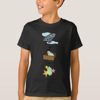 Balloon + Boy Hiding in Box = $$ Stardom $$ T-Shirt