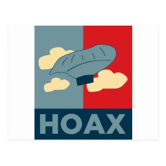 Balloon Boy Hoax (Obama Spoof) Postcard