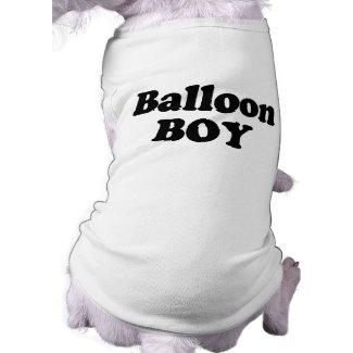 Balloon Boy Instant Costume petshirt