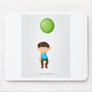 Balloon boy mouse pad