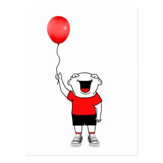 Balloon Boy Postcard