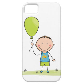 Balloon boy stick figure iPhone SE/5/5s case