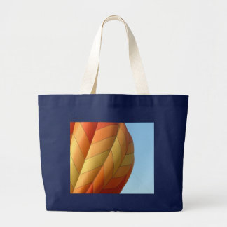 Balloon!  Bright orange! Tote Bags