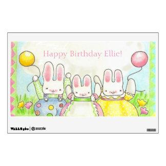 Balloon bunny Wall Decal