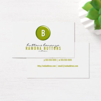 Balloon Button Business Card