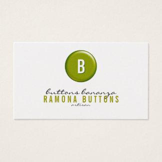 Balloon Button Business Card