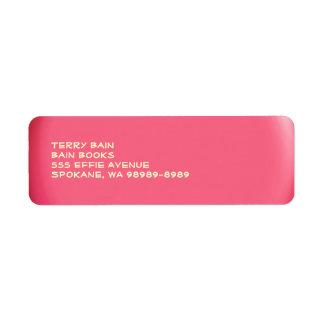 Balloon Button Label