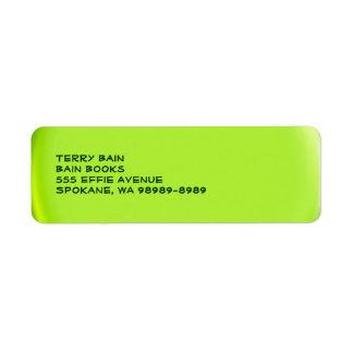 Balloon Button Style Label