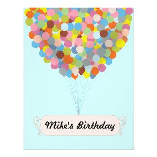 Balloon Celebration Full Color Flyer