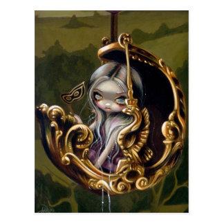 """Balloon Chariot"" Postcard"