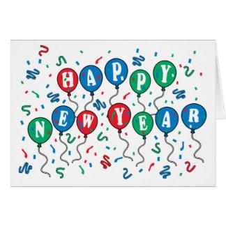 Balloon Cheer Card