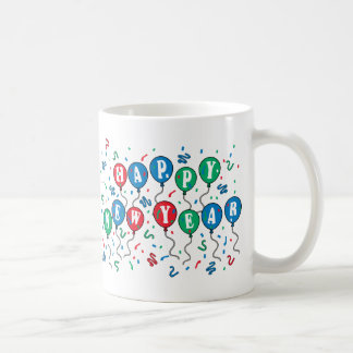 Balloon Cheer Classic White Coffee Mug