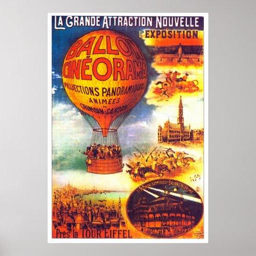 Balloon Cineorama - Poster