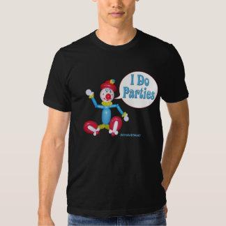 Balloon Clown - I Do Parties T-shirt