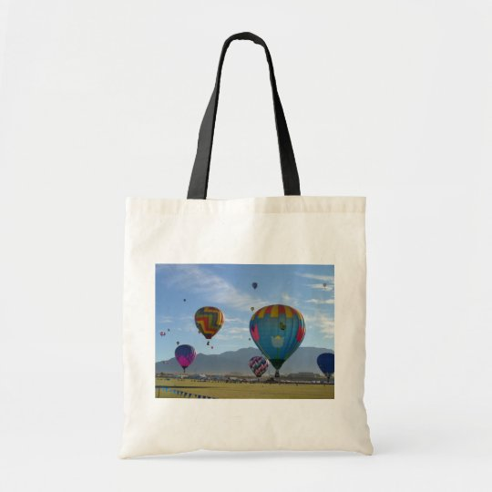 Balloon cluster tote bag