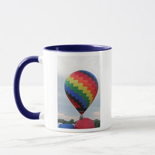 Balloon!   Colorful zigzag! Mug