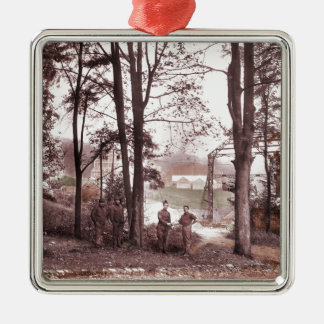 Balloon Factory Meudon France 1918 Metal Ornament