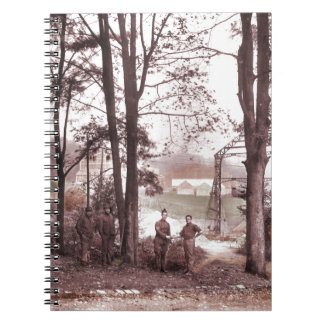 Balloon Factory Meudon France 1918 Spiral Notebook
