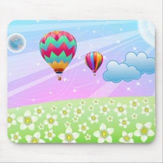 BALLOON FANTASY mousepad