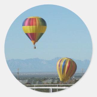 Balloon festival Alamogordo New Mexico Classic Round Sticker