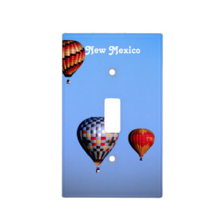 Balloon Festival in New Mexico Light Switch Plates