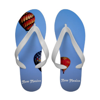 Balloon Festival in New Mexico Sandals