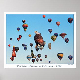 Balloon Festival Print