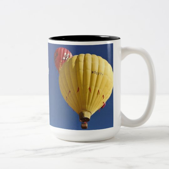 Balloon Festival Two-Tone Coffee Mug
