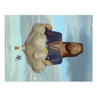 Balloon Fiesta Albuquerque Jesus The Lord Postcard