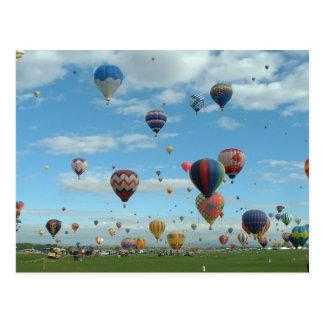 Balloon Fiesta Albuquerque Post Card