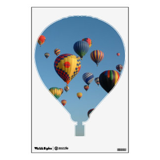 Balloon fiesta on your wall wall decal