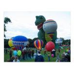 Balloon fiesta post card