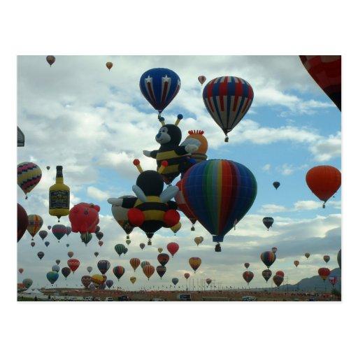 Balloon fiesta postcards
