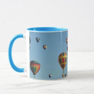 Balloon Fiesta Ringer Mug