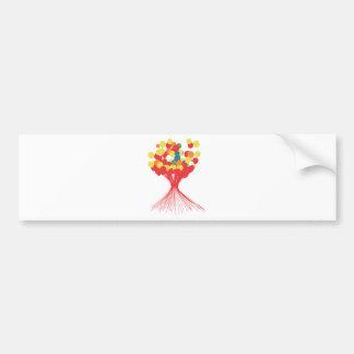 Balloon fire.png bumper sticker